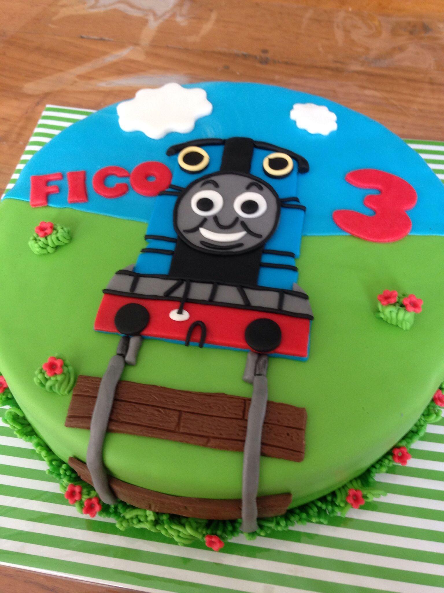 Favoriete Thomas de Trein taart | niños | Trein taarten, Thomas de trein #IO09