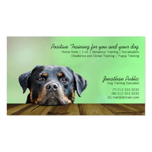 Dog Trainer Business Card Zazzle Com Dog Trainer Dog Training