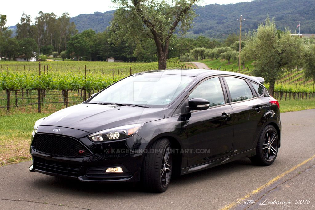 black ford focus st mk3 5 focus st 3 ford focus ford. Black Bedroom Furniture Sets. Home Design Ideas
