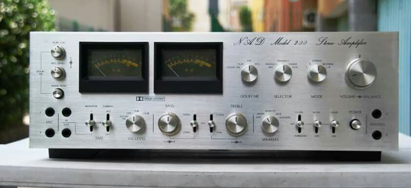 Vintage audio NAD Hi Fi Stereo | electronics in 2019 | Stereo