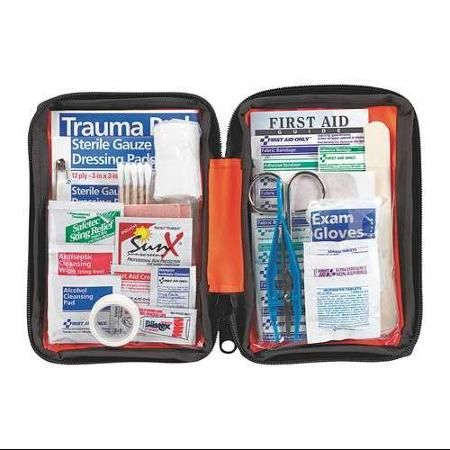 A hiking first aid kit is essential when you are heading