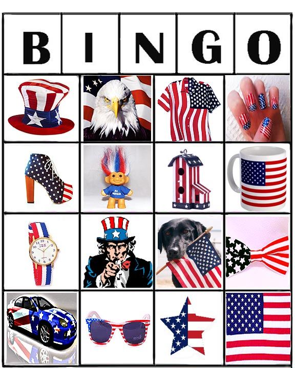 Flag Bingo Is A Great Activity For Seniors Who