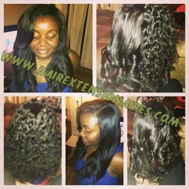 My super loyal wonderous USA client Juliet N. Mafoh has had so many hairs and methods from me and she knows all about me and knows exactly what i have to offer hence why she only buys from me but she also supports my business a lot and I just need to say a very big thankyou from the bottom of my heart as you don't know how much that really means to me. Here is a small testimonial to go with the photo she sent me as i arranged three bundles of the peruvian wavy for her looks very…