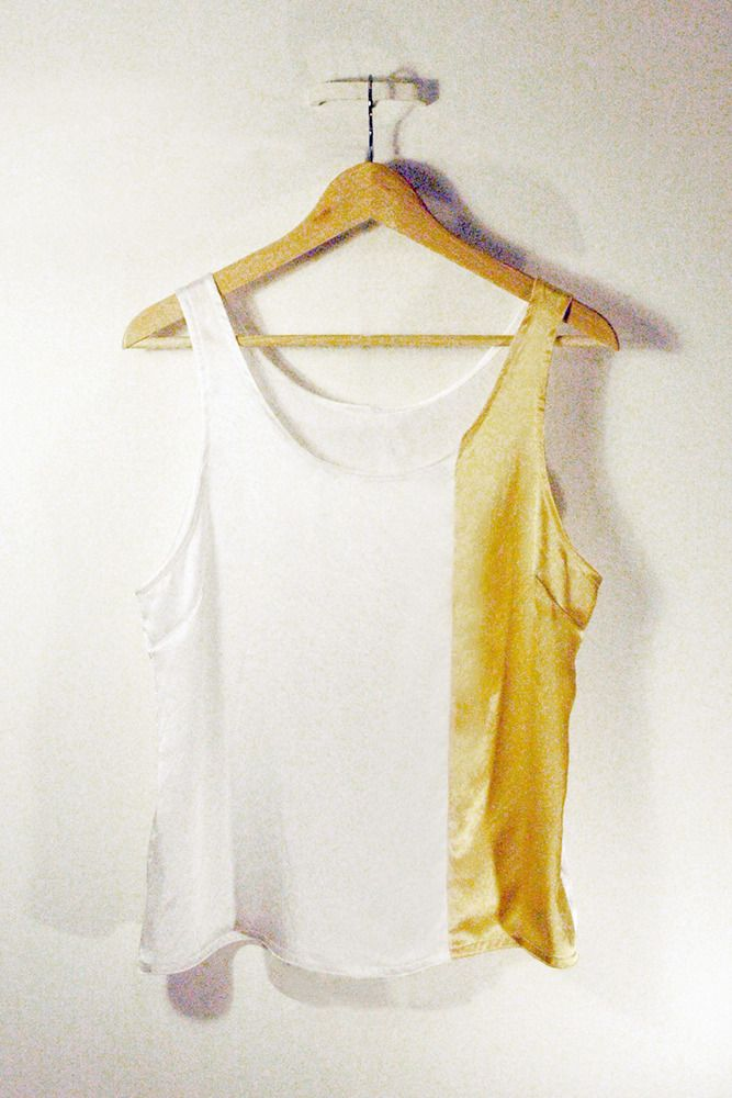 Ioyster tank - white from annika louise