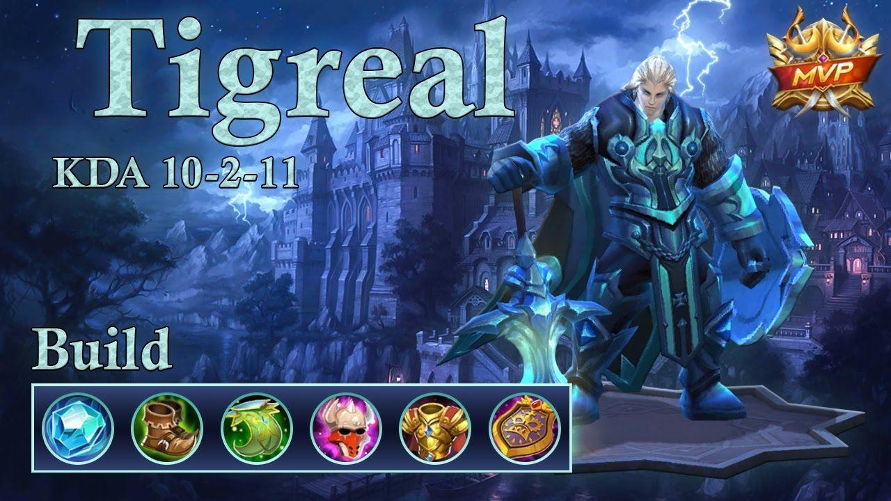 Tigreal Mobile Legend Build With Images Mobile Legends Legend