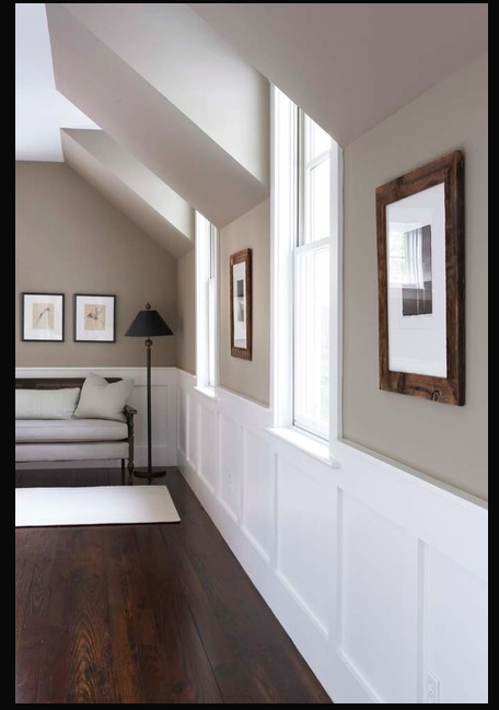 Perfect Colors For Wickfield Makeover Paint Is Benjamin Moore Berkshire Beige Ac 2 Flat Love Those Floors Home Hallway Colours New Homes