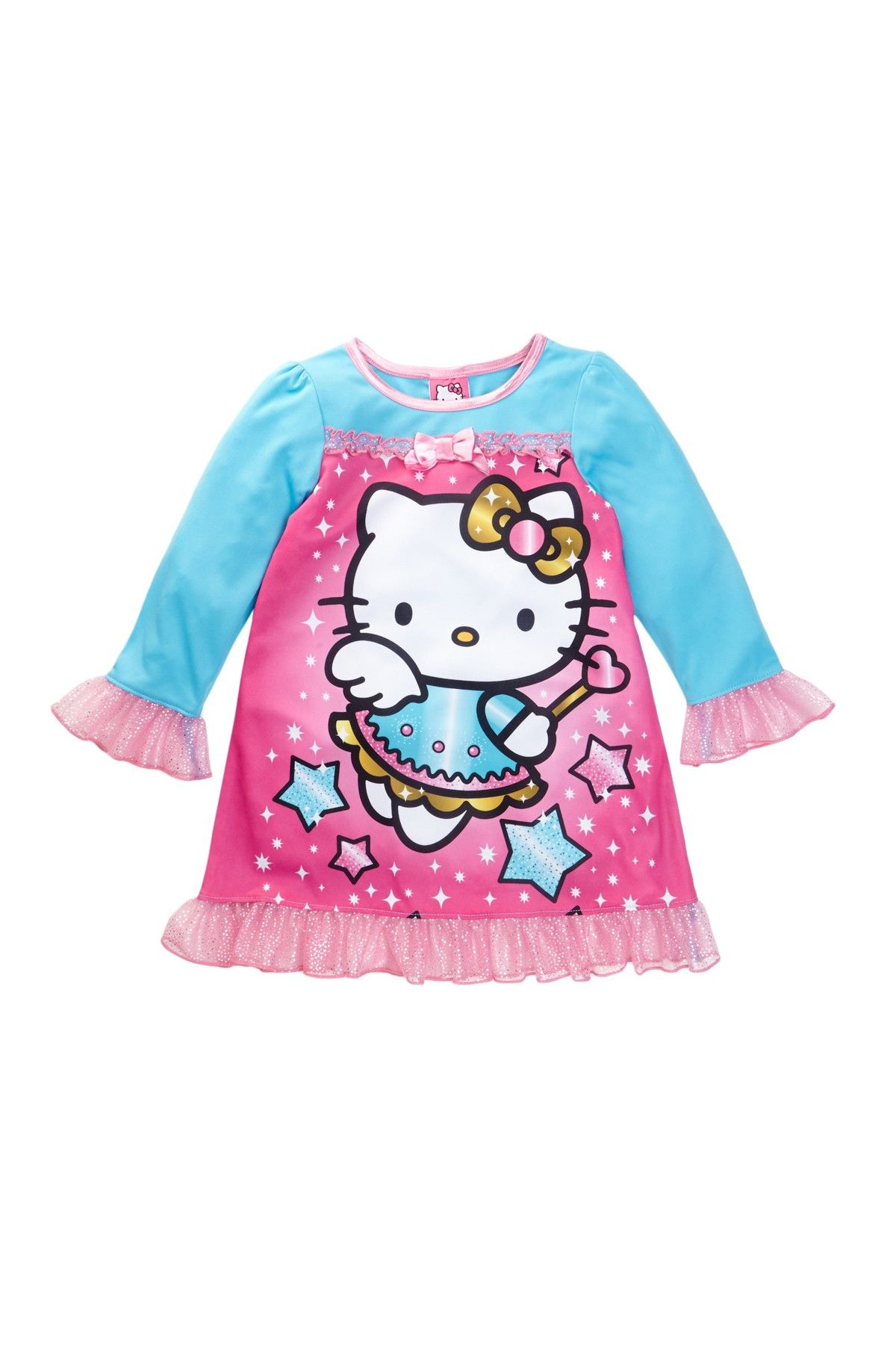 Hello Kitty Nightgown Toddler Girls Nightgownkids With
