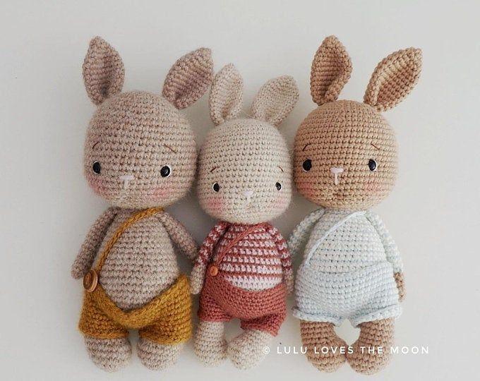 Photo of #Häkelspielzeug Hase crochet pattern-5in1/fox/monkey/tiger/polarbear/deer/symbo…