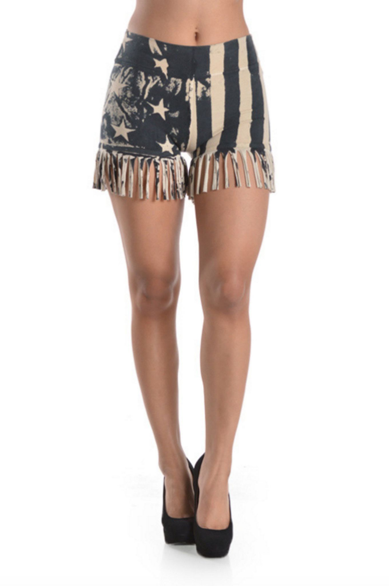 T-Party American Flag Shorts