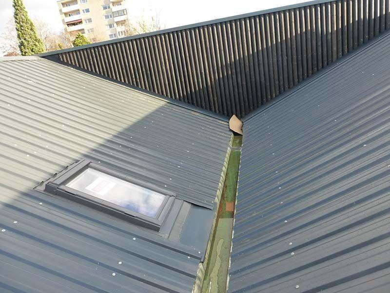 Trapezdach Und Sandwichplatten Trapezblech Trapez Dach