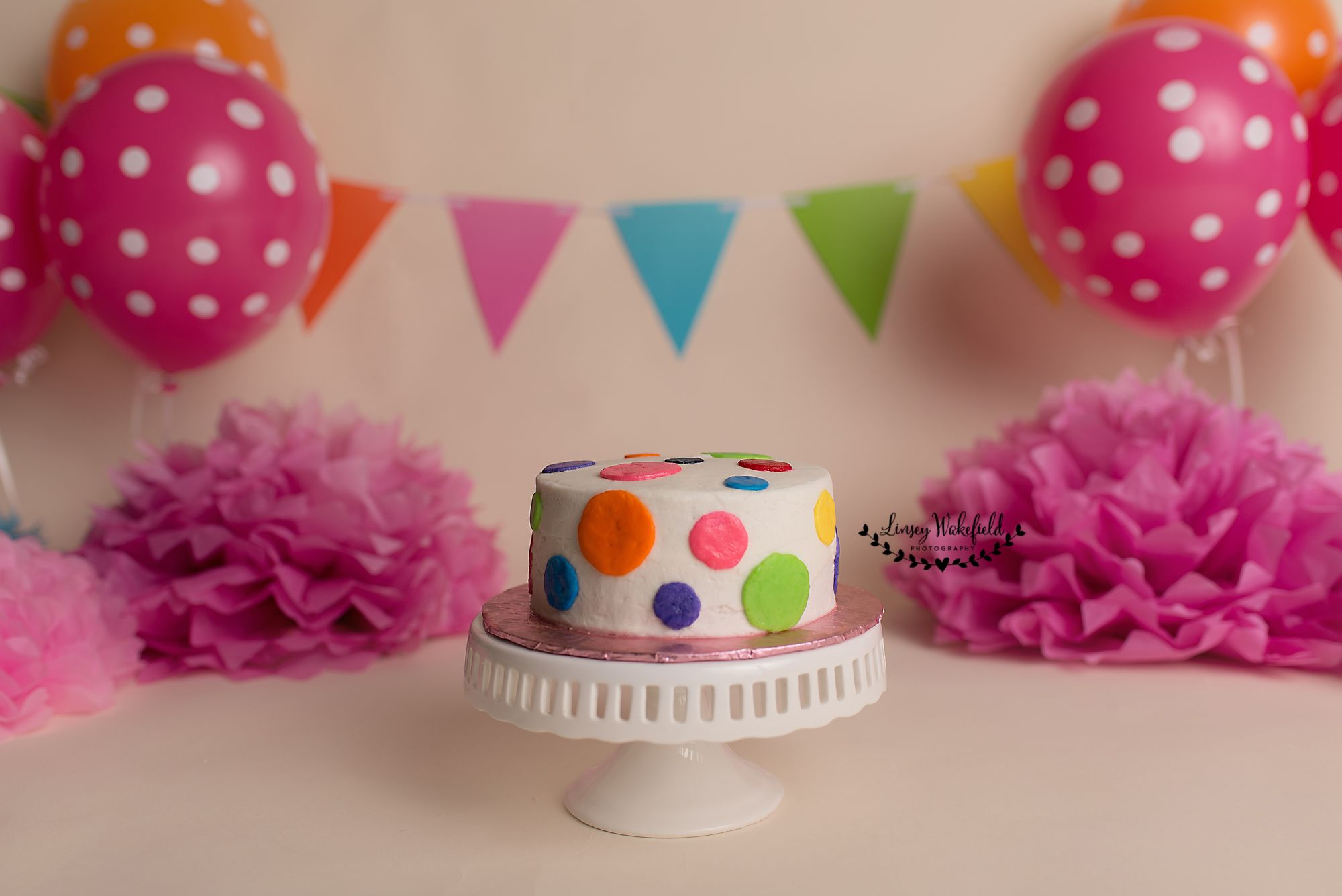 cake smash, cake smash session, colorful cake smash, first