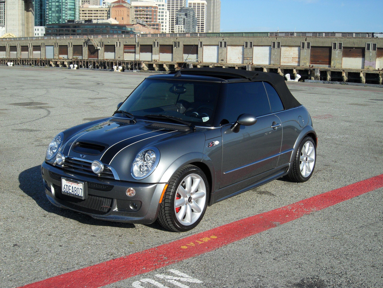 2005 Mini Cooper S Convertible Blue Google Search