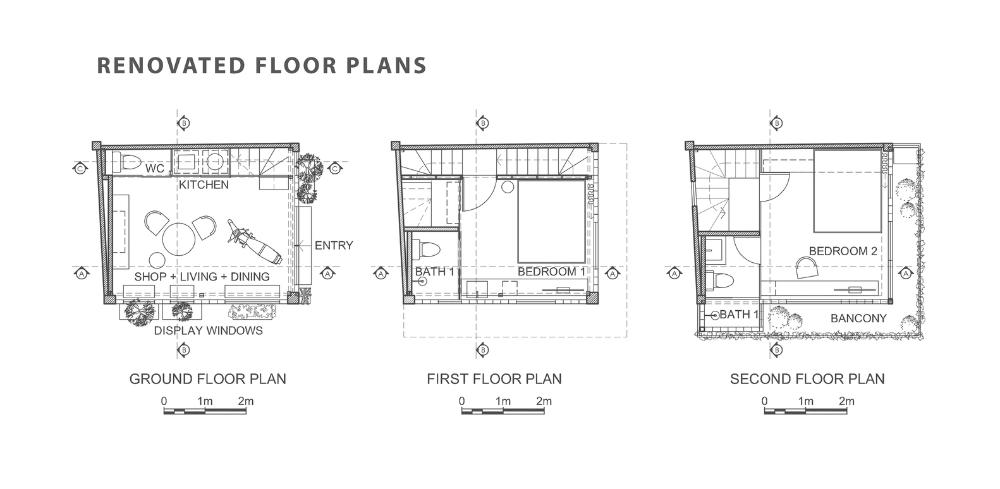 Gl Block Micro House Room Design