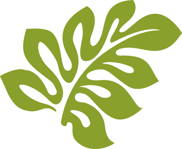 Hibiscus Leaf Clip Art free. Transparent background. Can ...
