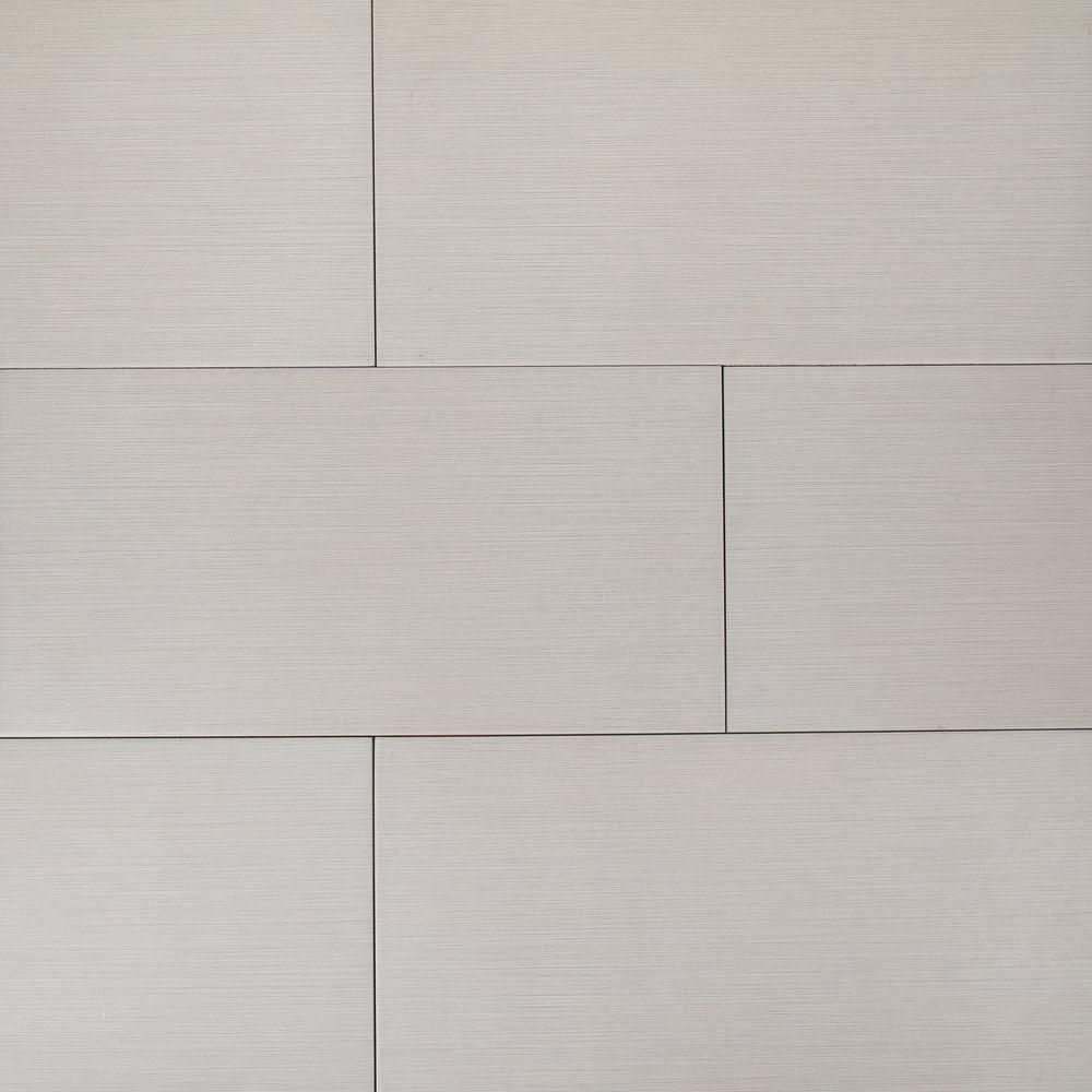 Home Depot Kitchen Flooring Options Ms International Metro Glacier 12 In X 24 In Glazed Porcelain