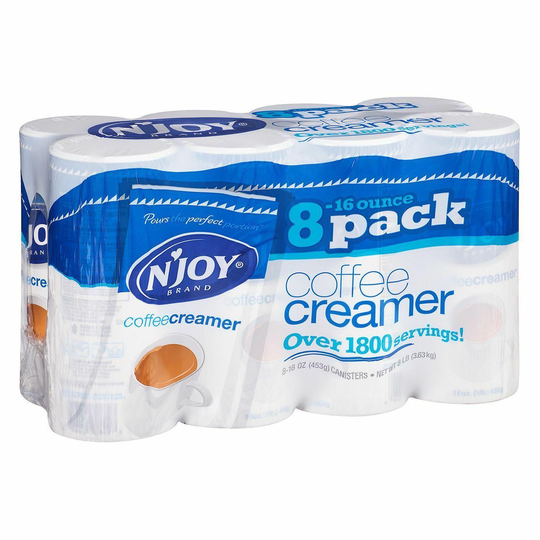 NJoy Coffee CreamerNonDairy Powdered Creamer Packets