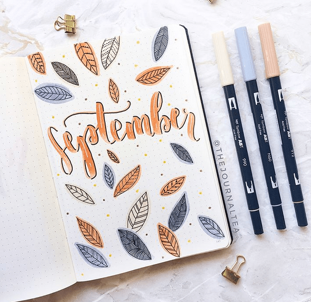 24 September Bullet Journal Layouts & Themes Youll LOVE