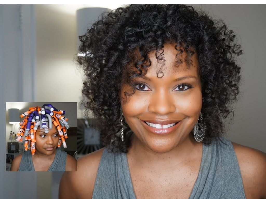 3b Short Hairstyles: PT. 2 HOW TO GET PERFECT FLEXIROD RESULTS ON FINE NATURAL