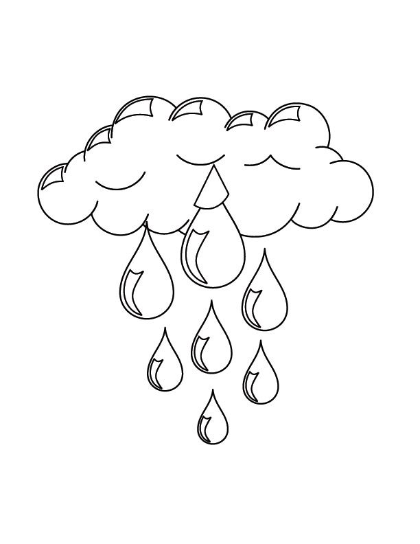 Free Printable Cloud Coloring Pages For Kids | Sewing ...