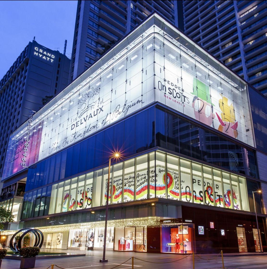Lighting Shop At Balestier Plaza: Mall Facade, Retail Facade