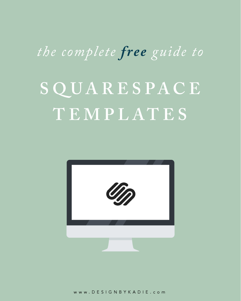 The Complete Guide To All 47 Squarespace Templates To Help