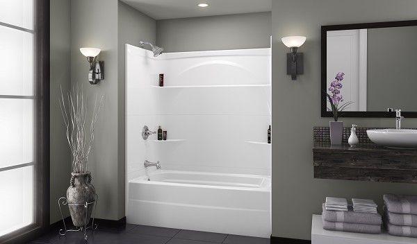 276032al Delta Styla 60x32 Acrylic With Innovex Technology Three Piece Bathtub Shower One Piece Tub Shower One Piece Shower Shower Tub