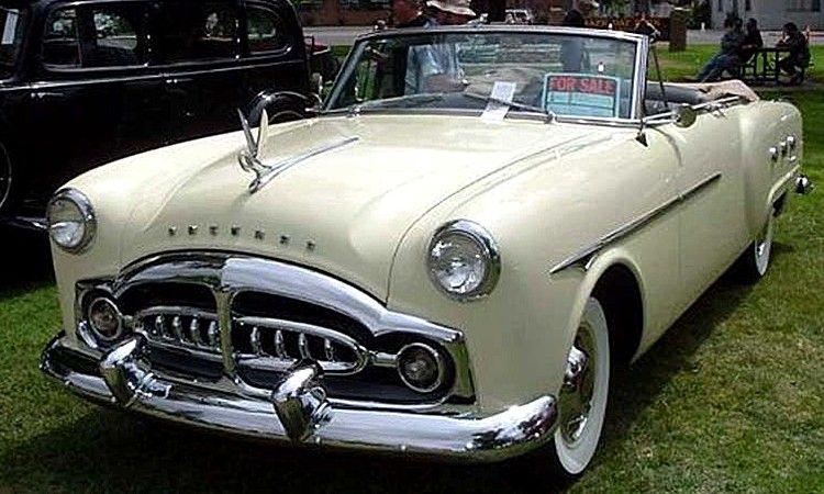 La Packard 250 convertible, cette ancienne voiture fut