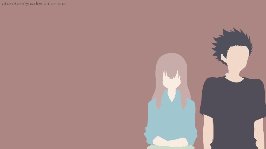 Shouko Nishimiya - Shouya Ishida | Koe no Katachi by AkasakaSetyos on DeviantArt