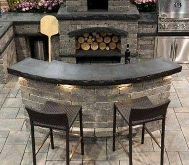 R sultat de recherche d 39 images pour meubles cuisine d 39 t for Barbecue exterieur en dur