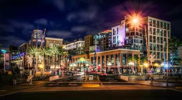 Gas Lamp District, San Diego, CA