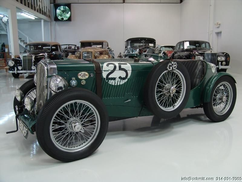 Daniel Schmitt & Co Presents: 1947 #MG TC Classic Race Car www ...