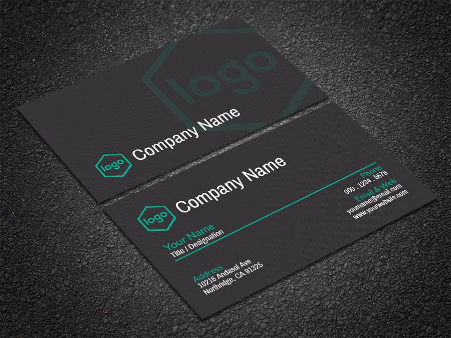 Free professional printable business card business cards card free professional printable business card template download flashek Gallery