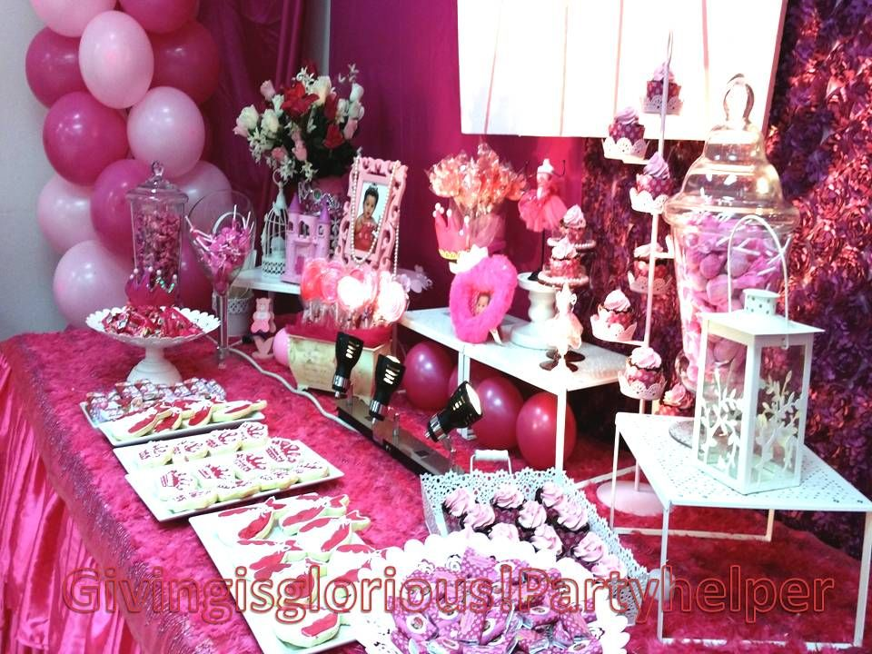 Phenomenal Barbie Candy Buffet Ideas Google Search Places To Visit Interior Design Ideas Clesiryabchikinfo