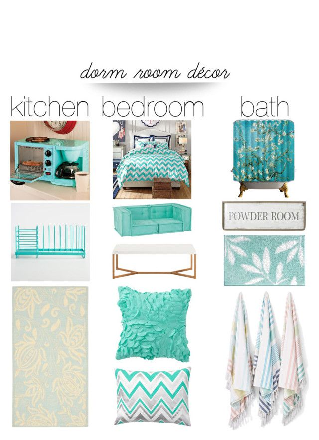 """""""Dorm Room Love"""" by creation-gallery ❤ liked on Polyvore featuring interior, interiors, interior design, home, home decor, interior decorating, Improvements, Cost Plus World Market, PBteen and Safavieh"""