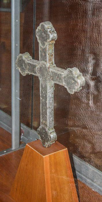 """Crofifisso - Museo Civico   """"Cola Filotesio"""" già Chiesa di Sant'Emidio – sec. XIV (Amatrice)"""