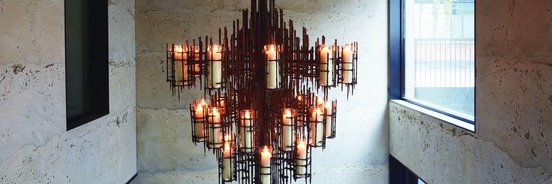 Haunted chandelier by lara bohinc for the mandrake the london