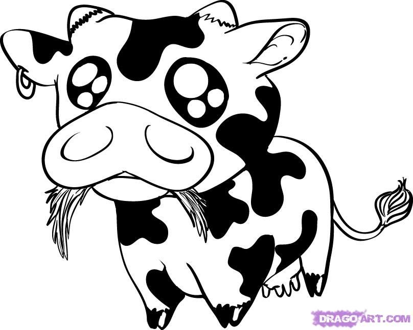 Picture Of Animated Cow