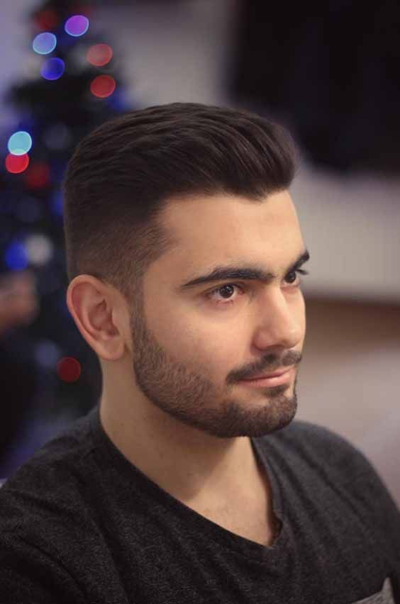 9 Elegant High Comb Over Hairstyles For Men You Must Try Medium