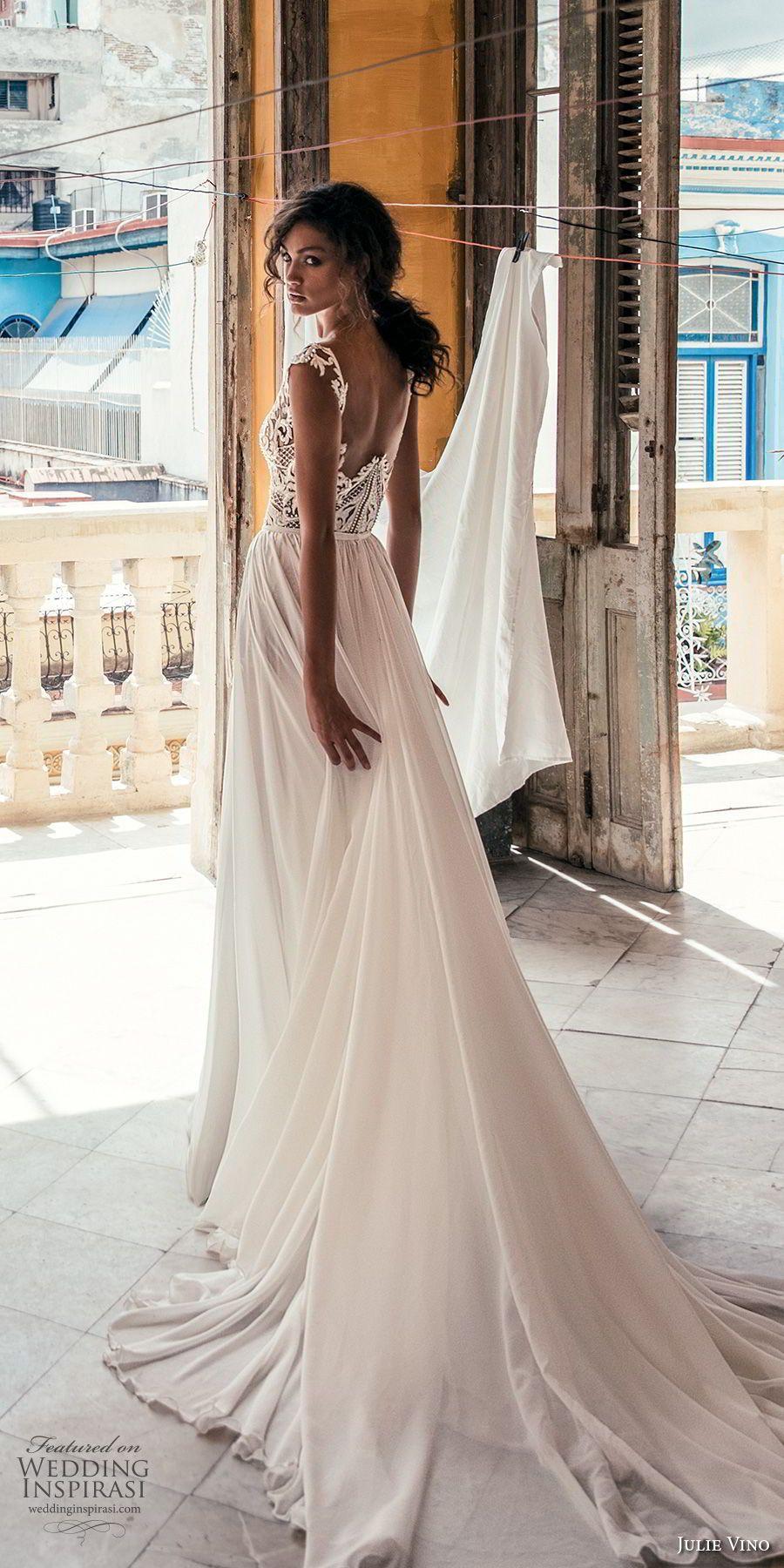 High neck wedding dresses  Julie Vino Fall  Wedding Dresses u ucHavanaud Bridal Collection