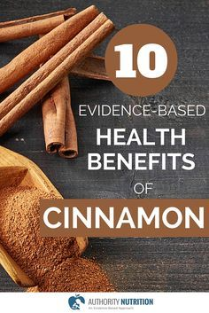 Cinnamon is a delicious spice with impressive effects on health and metabolism. Here are 10 evidence-based health benefits of cinnamon: http://authoritynutrition.com/10-proven-benefits-of-cinnamon/