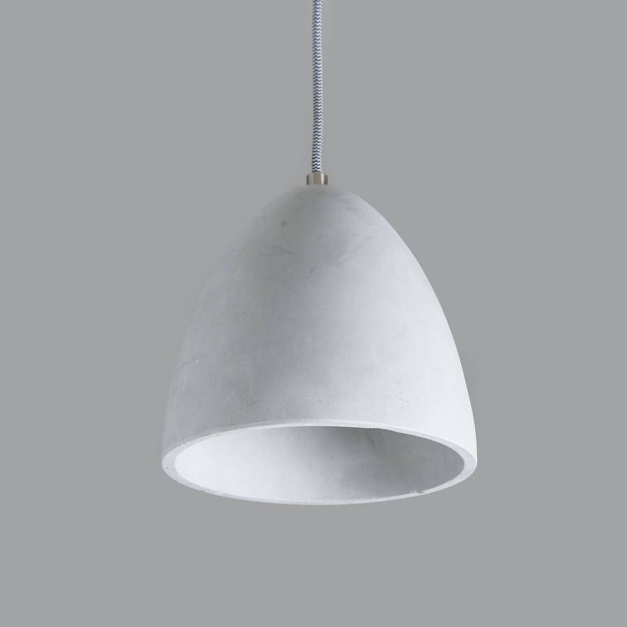 Fela Architectural Concrete Pendant Light Pendant lighting