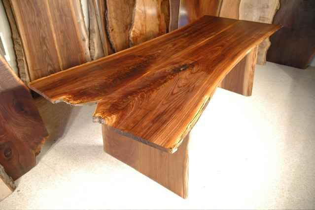 75' Custom Natural Edge Walnut Dining Table  Custom Wood Dining Fascinating Custom Made Dining Room Tables Inspiration Design