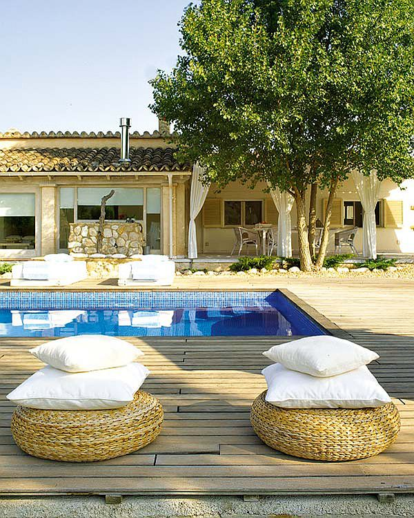 Swimming Pool Decorations Outdoor Home Decorating Ideas