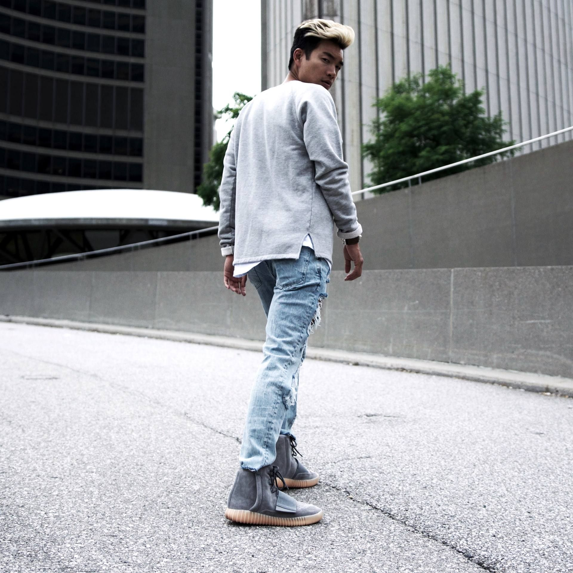 d7b9709ba0bae yeezy boost 750 outfit