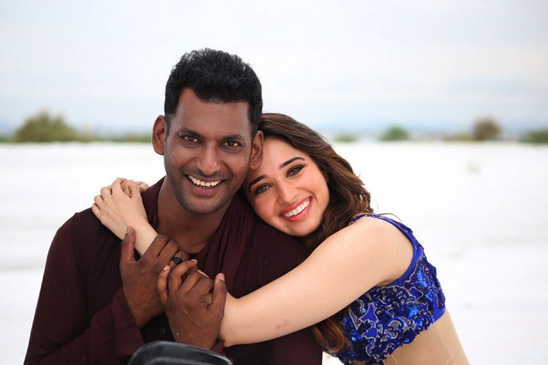 Action Movie Stills – Vishal, Tamanna