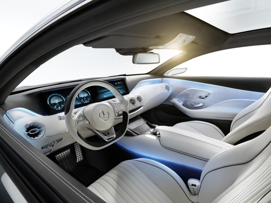Mercedes Benz S Class Coupe Concept Interior 1 Design Milk Buying Furniture Best Interior Design Cool Furniture