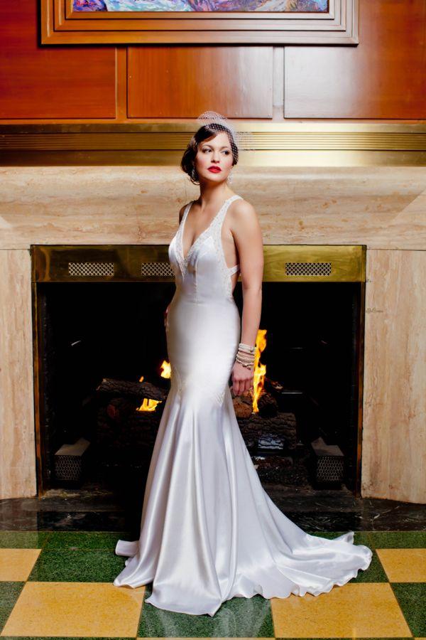 Thrift store find. Gorgeous deco slip / wedding dress. | Inspiration ...