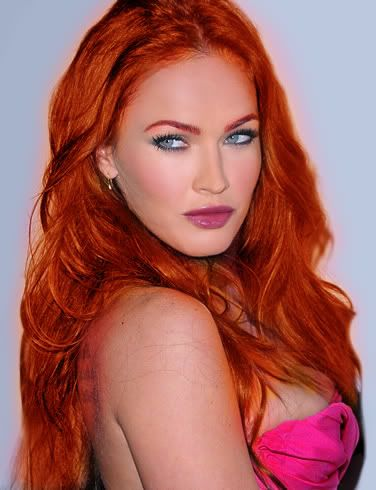 Megan hottest redhead