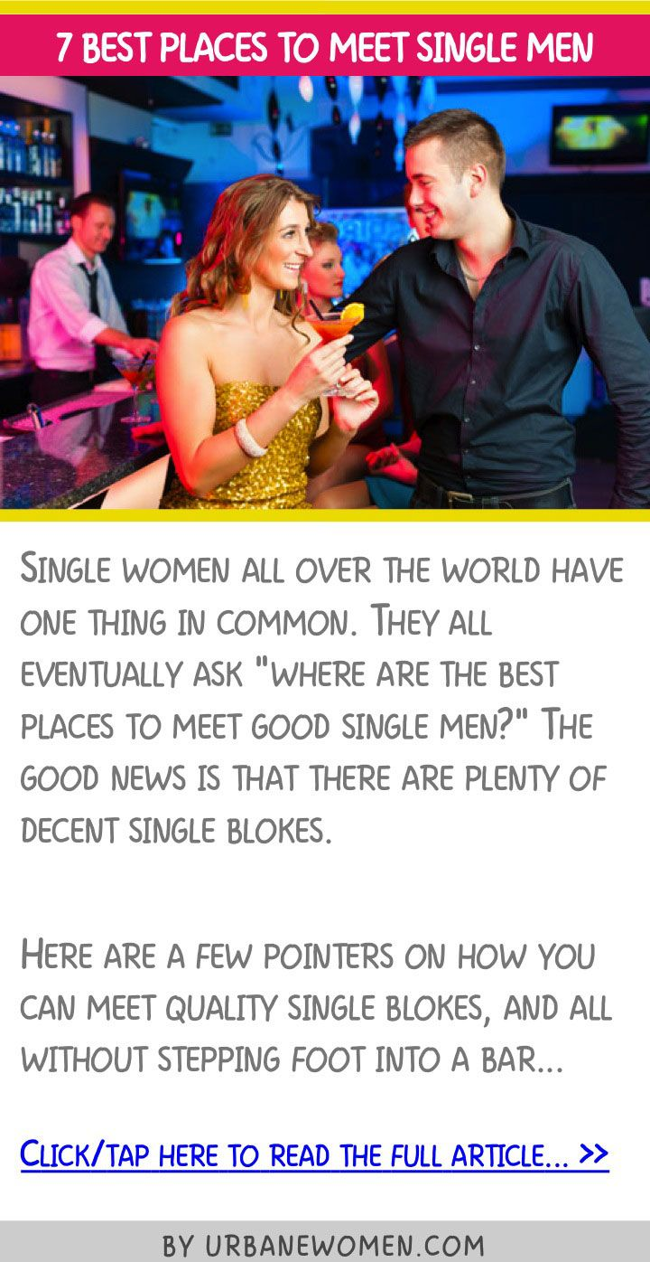 good places to meet single women