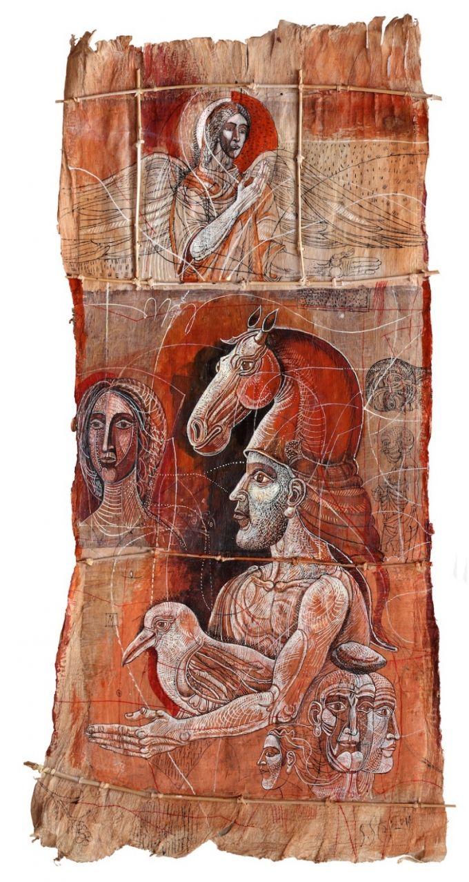 """An angel"" by Stoimen Stoilov (b1944, Varna)"